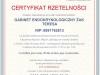 Certyfikat Rzetelnosci GABINET ENDOKRYNOLOGICZNY ZAK TERESA [PL]